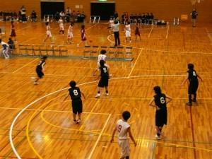 会長杯 第11回富山県中学校バスケットボール大会