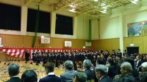 大町小学校 卒業式