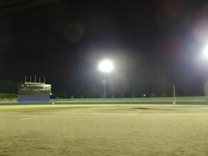 桃山球場ナイタ―
