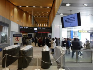 北陸新幹線 試乗会